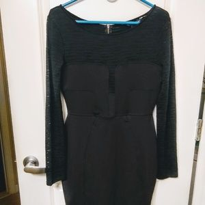 French Connection Black Party Dress